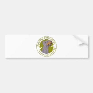 dobe-fawn-uncropped-ear-logo-8-29-11 bumper stickers