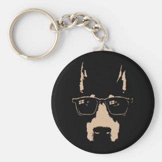 Dobe Glasses Keychain