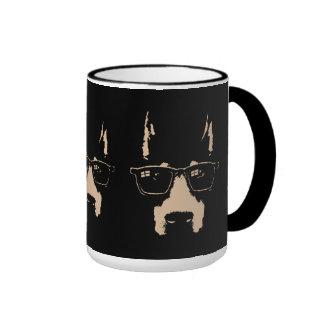 Dobe Glasses Ringer Coffee Mug