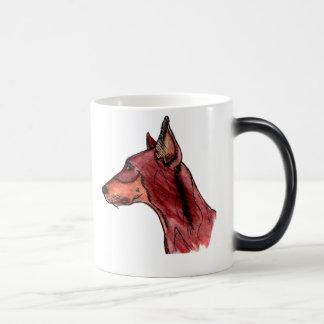 Dobe rojo taza de café