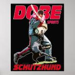 Dobe Sport Schutzhund design Print