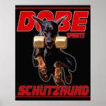 Dobe Sports Schutzhund Retrieve design Print