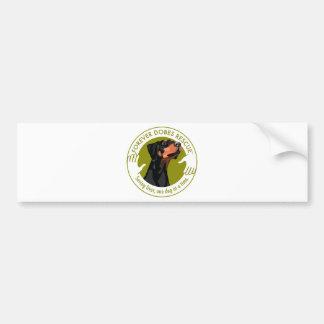 dobe-uncropped-ear-logo-8-29-11 bumper sticker