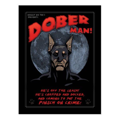 Dober Man! Postcard