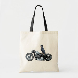 Dobercycle Tote Bag