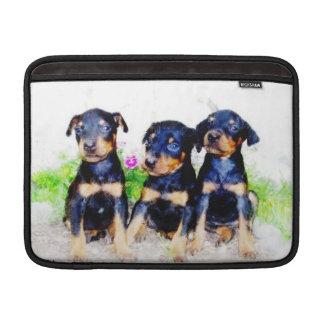 Doberm Pinscher puppies Sleeve For MacBook Air