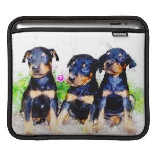 Doberm Pinscher puppies Sleeve For iPads