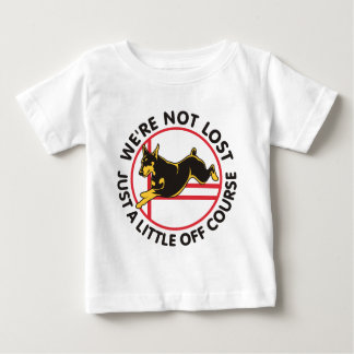 Doberman Agility Off Course Baby T-Shirt