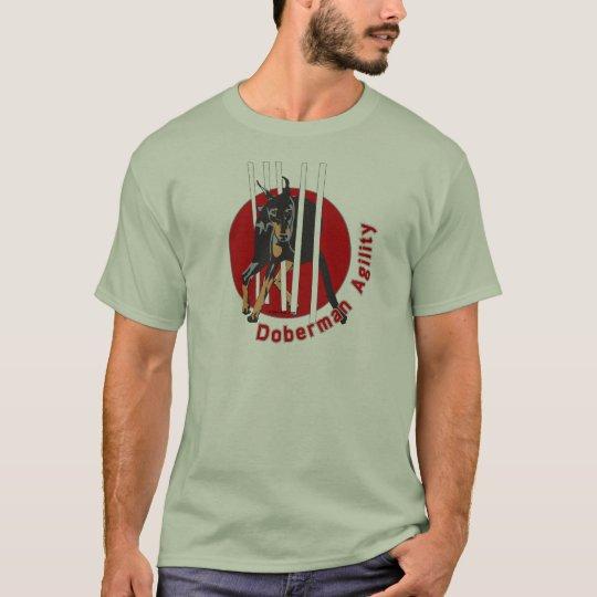 Doberman Agility Weaves T-Shirt
