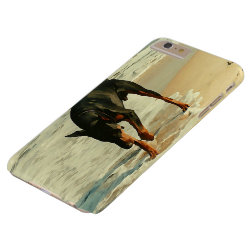 Case-Mate Barely There iPhone 6 Plus Case with Doberman Pinscher Phone Cases design
