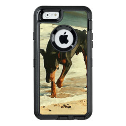 OtterBox Symmetry iPhone 6/6s Case with Doberman Pinscher Phone Cases design
