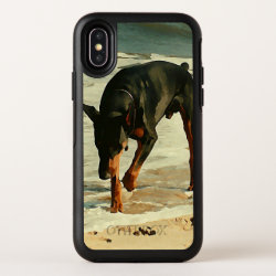 OtterBox Apple iPhone X Symmetry Case with Doberman Pinscher Phone Cases design
