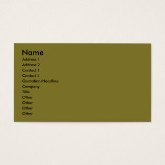 Doberman - Black - Bogie Business Card