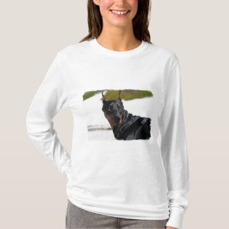 Doberman - Black - Bogie T-Shirt