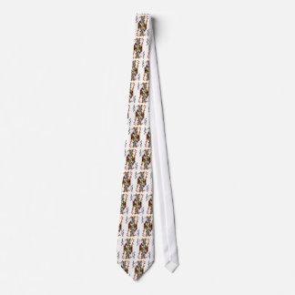 Doberman Black Joker Tie