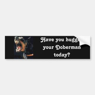 Doberman Bumper Sticker