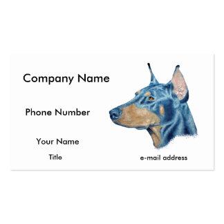 Doberman Business Card