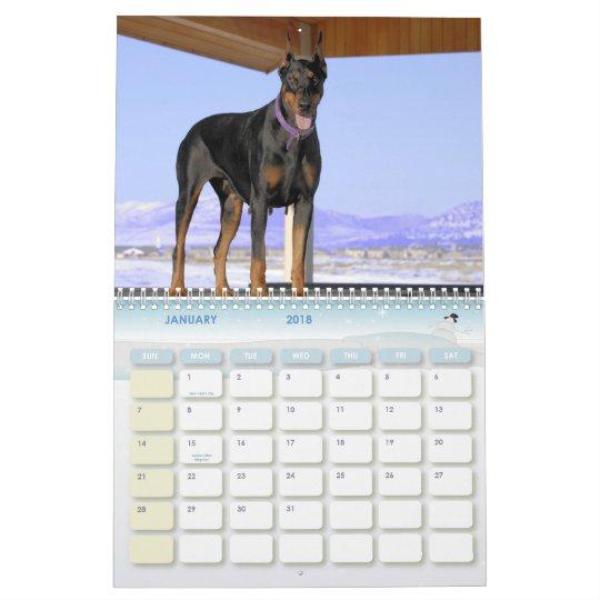 Doberman Calendar