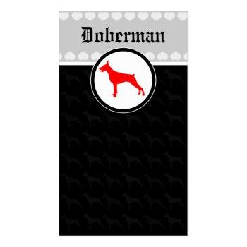 Doberman Cards Business Card Template