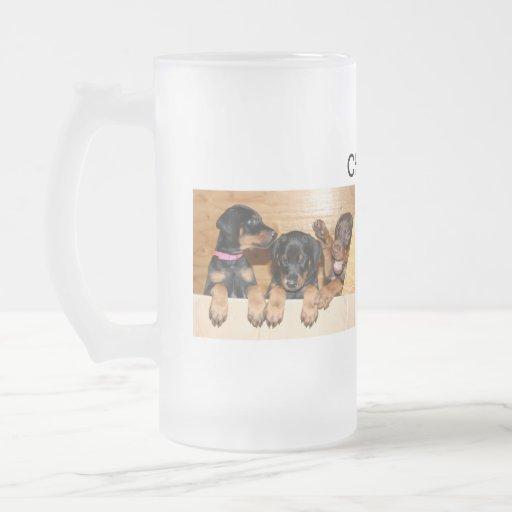 Doberman Cheers Mug