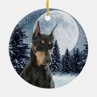 Fabulous Doberman Ornaments Amp Keepsake Ornaments Zazzle Easy Diy Christmas Decorations Tissureus