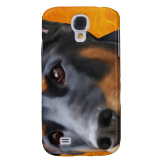 Doberman Close Up Galaxy S4 Cover
