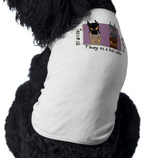 Doberman colors doggie tshirt