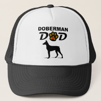 Doberman Dad Trucker Hat