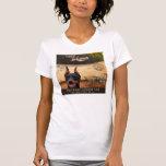 Doberman del café camisetas
