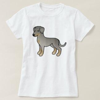 Doberman del cervatillo/perro alemán del Pinscher Playera