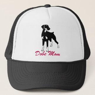 Doberman Dobie Mom Trucker Hat