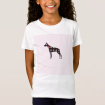 Doberman Dots Pattern T-Shirt