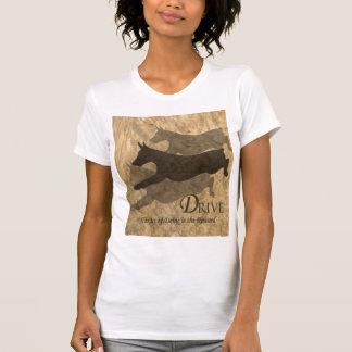 """Doberman en la """"impulsión """" camisetas"""