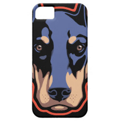 Case-Mate Vibe iPhone 5 Case with Doberman Pinscher Phone Cases design