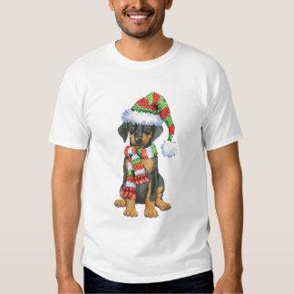 Doberman feliz de Howliday Camisas