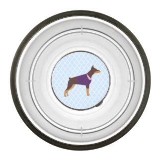 Doberman food/water dish