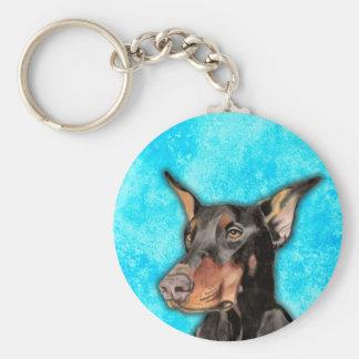 Doberman Gifts Keychain