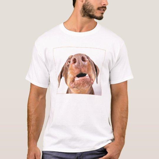 Doberman Giz a Kiss T-Shirt