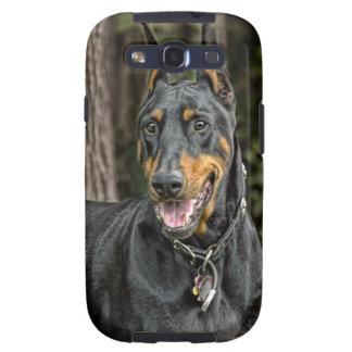 Doberman in Forest! Galaxy S3 Case