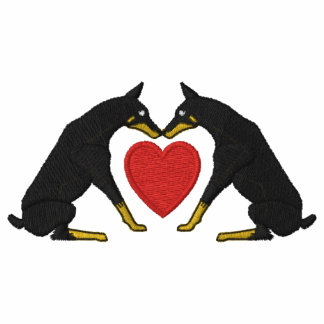 Doberman Love Polo Shirt