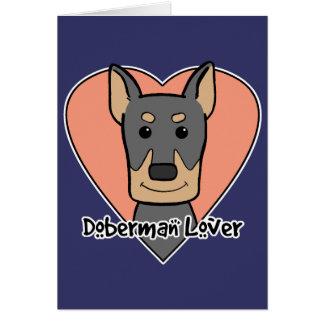 Doberman Lover Stationery Note Card