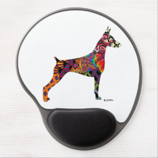 Doberman Lovers Mousepad Gel Mouse Pad