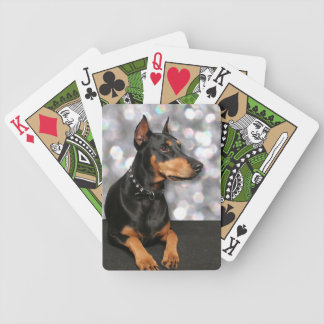 Doberman - Megyan Bicycle Playing Cards