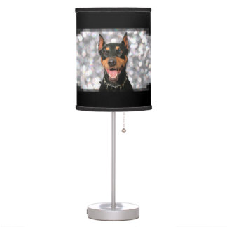 Doberman - Megyan Table Lamp