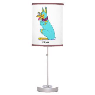 Doberman Modern Lamp