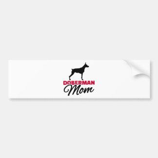 Doberman Mom Bumper Stickers