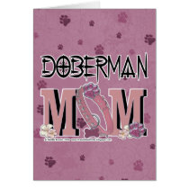 Doberman MOM Card
