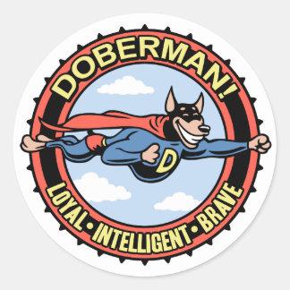 ¡Doberman Pegatinas
