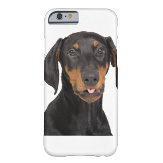 Doberman Pincher puppy Barely There iPhone 6 Case