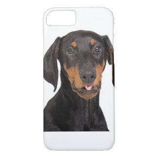 Doberman Pincher puppy iPhone 8/7 Case